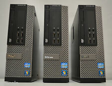 3 x Dell OptiPlex 790 SFF i3 3.30GHz 4GB DDR3 250GB Win 7 Desktop Office 3 x PC