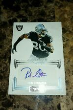 2013 Panini Playbook ROD STREATER Rc AUTO SP #d 8/25! KC Chiefs