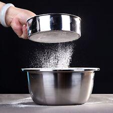 15cm Acciaio Inox Rete Farina Vagliatura Setaccio Colino Cottura Cucina Nuovo