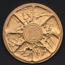 1980 OLYMPIC COMMEMORATIVE LAKE PLACID CALENDAR MEDALLION