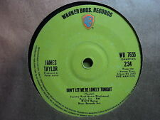 "James Taylor ""Don't Let Me Be Lonely Tonight"" Singapore 7"""