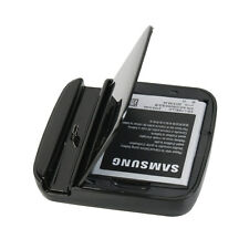 Dual Cradle Battery Charger Dock + holder For Samsung Galaxy S2 S 2 SII i9100