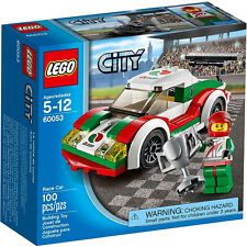 JANUARY 2014 LEGO CITY 60053 RACE CAR, NEW & SEALED, GREAT GIFT!