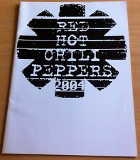 Red Hot Chili Peppers 2004 Tour Programme