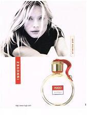 PUBLICITE ADVERTISING  1999     HUGO BOSS   innovez  WOMAN  pafum