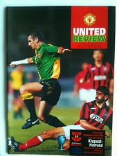 Nuovo di zecca 1993/94 Manchester United V kispest HONVED CHAMPIONS LEAGUE