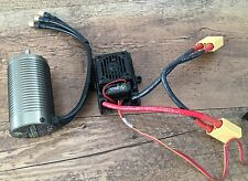 Axial 1/8 Yeti XL AE-4 Vanguard Waterproof Brushless ESC 2200KV With XT-90