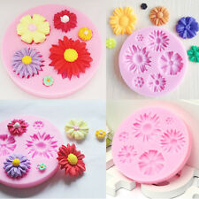 3D Flower Mould Silicone Fondant Sugarcraft Chocolate Cake Mold Decoration Tool