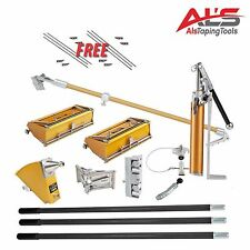 TapeTech Drywall Tools Starter Set - NEW - FREE Extra Parts & FREE T-Shirt