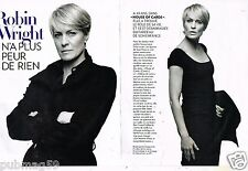 Coupure de Presse Clipping 2015 (6 pages) Robin Wright