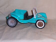 Vintage Nylint 1970's Turquoise Dune Buggy Pickup Hot Rod, Rat Rod Pressed Steel
