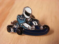 Go Kart pin badge. Go-Karting. F1 Karting.