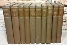 Hawthorne's Works 1870-1888 Editions 10 Volumes Notebooks Marble Faun Houghton