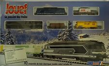 Jouef 7333 Start Set SNCF Diesellokomotive Findus Shell neu OVP Ungeöffnet
