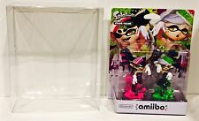 1 Custom Made Box Protector for Amiibo 2 packs Splatoon / Zelda Nintendo Case
