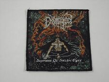 DEMIGOD SLUMBER OF SULLEN EYES WOVEN PATCH