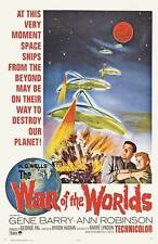 "THE WAR OF THE WORLDS Movie Poster [Licensed-NEW-USA] 27x40"" Theater Size (1953)"