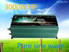 AU Stock~6000W Peak 3000W Pure Sine Wave Power Inverter 12VDC/240VAC Power Tools