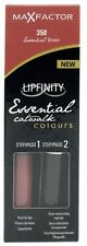 MAX FACTOR LIPFINITY essenziale Catwalk LIPSTICK - 350 Marrone