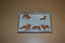 Preiser HO Scale Figures 10479 Stags NEW