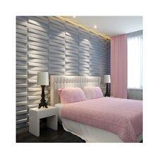 3D Wall Panels Interior Sheets Brick Pattern Paintable Decorative Unique Set 10