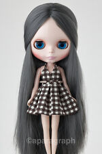 "12"" Neo Blythe Doll from Factory - Grey Long Hair"