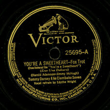TOMMY DORSEY & HIS CLAMBAKE SEVEN You're a sweetheart/Nice work if you can..X053