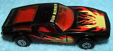1972 Matchbox Superfast Lesney England No37 Black Sun Burner Maserati Doors Open