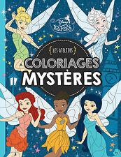 Disney Fairy By Number French Adult Colouring Book Fairies Fairytale Tinkerbell
