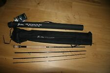 Flextec CRX88 Trout Fly Fishing Rod  4 piece 10ft AFTM 6/7 Hard Cordura Case