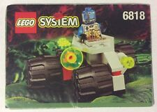 LEGO 6818 Notice de Montage Instruction Booklet 1997 Cyborg Scout