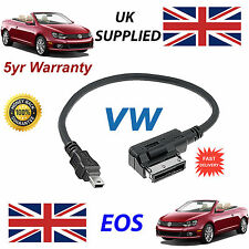 VW EOS AMI MMI 000051446A MP3 iPOD PHONE MINI USB Cable replacement