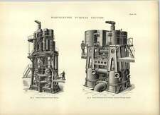 1893 worthington pompage moteurs verticaux et triple expansion dessins