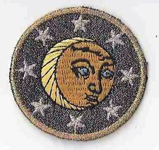 "2"" Celestial Lunar Moon Star Embroidery Patch"