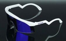 RARE OAKLEY Heritage Collection RAZOR BLADE Violet Iridium Sunglasses OO 9140-15