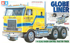 Tamiya 1:14 Tractor Trucks GLOBE LINER EP RC Car On Road #56304