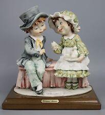 "Giuseppe Armani Figurine 133C ""Tea Time"" MINT WorldWide"