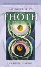 Crowley Thoth Tarot Deck 9781572815100 by Aleister Crowley, Cards, BRAND NEW