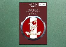 Royale Modern Classic Car Grill Badge B2.1292 1960's BRISTOL CITY FOOTBALL
