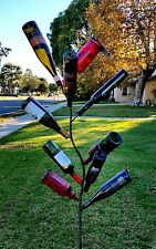 BOTTLE TREE METAL GARDEN STAKE