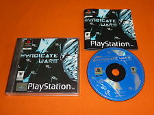Sony Playstation 1 Spiel : SYNDICATE WARS ! DEUTSCH ! KOMPLETT ! PS1 PS PSX