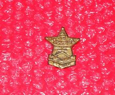 VINTAGE METAL TOY BADGE DICK TRACY SECRET SERVICE PATROL SECOND YEAR MEMBER