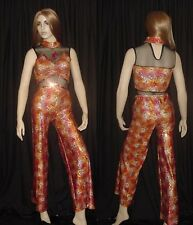 I Go To Rio Dance Costume Vaudeville Leotard & Pants Clearance Adult Small