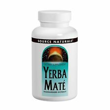 Yerba Mate - 90 - 600mg Tablets by Source Naturals - Standardised Herbal Extract