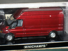 Minichamps 2000 Ford Transit Cargo Box Van Truck 1/43 Diecast Limited Edition