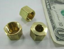 "10 Parker 1/4"" OD Tube Nuts Flammable Liquid UL Rated Brass X61C-4 Fuel Gas Line"