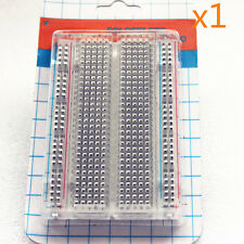 Transparent Material 400 Contacts Tie-Point Solderless PCB BreadBoard 8.3*55CM