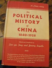 The POLITICAL HISTORY OF CHINA 1840-1928 LI CHIEN-NUNG 1956 FREE US SHIPPING