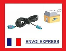 Extension FAKRA femelle 2m Câble d'antenne RG174 Câble Rallonge