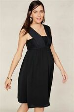 BNWT NEXT Black MATERNITY Chiffon Baby Doll Evening Party Dress Size 12